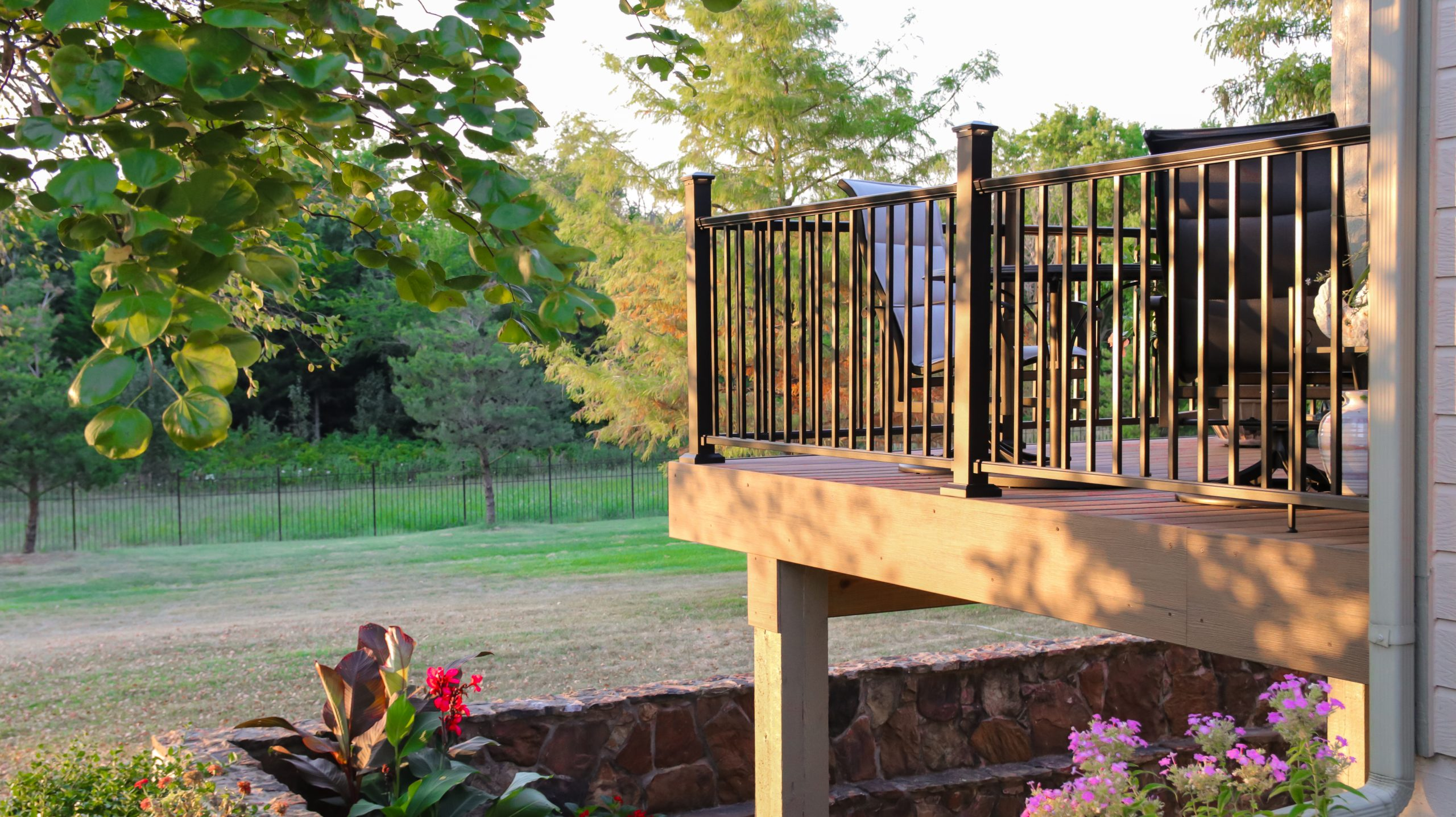 Deck in Summer